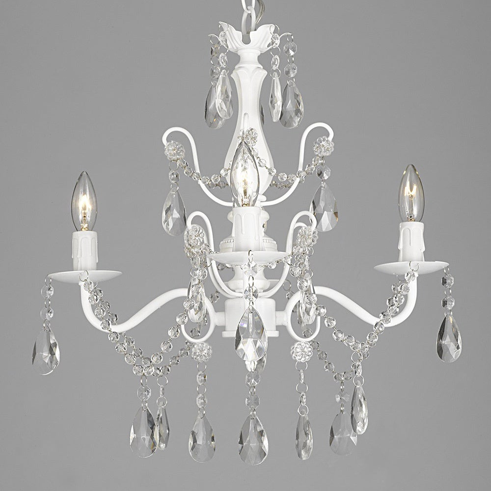 Candelabra Crystal Ceiling Lights For Less