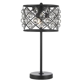 Spencer Table Lamp Crystal Spheres Iron 3-light Table Lamp