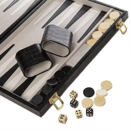 New School Backgammon Set