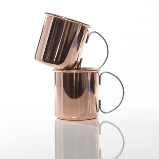 The Burro Copper Mugs (Set of 2)