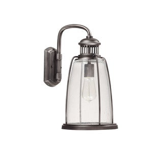 Capital Lighting Harbour Collection 1-light Graphite Outdoor Wall Lantern