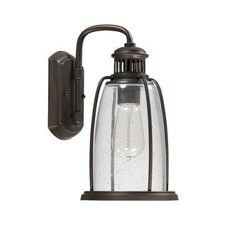 Capital Lighting Harbour Collection 1-light Old Bronze Outdoor Wall Lantern