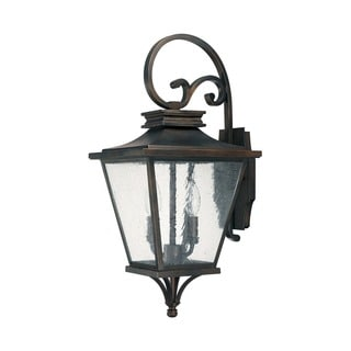 Capital Lighting Gentry Collection 2-light Old Bronze Outdoor Wall Lantern