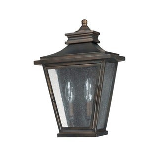 Capital Lighting Astor Collection 2-light Old Bronze Outdoor Wall Sconce