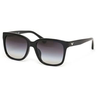 Emporio Armani Women's EA4042F Plastic Square Sunglasses