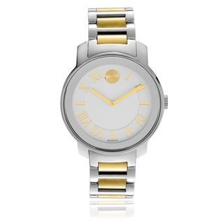 Movado Women's 3600208 'Bold' Roman Numeral Two-tone Link Watch