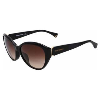 Emporio Armani Women's EA4037 Plastic Cat Eye Sunglasses