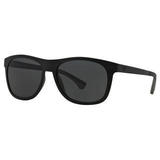 Emporio Armani Men's EA4034 Plastic Square Sunglasses