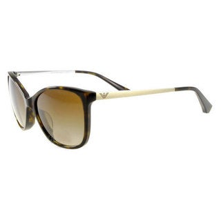 Emporio Armani Women's EA4025F Plastic Cat Eye Sunglasses