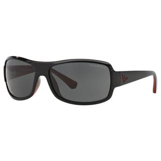 Emporio Armani Men's EA4012 Rectangle Sunglasses