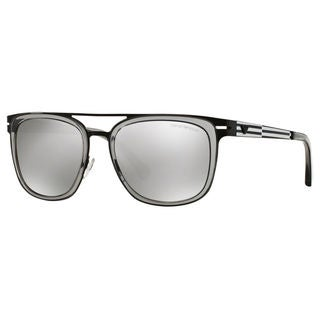 Emporio Armani Men's EA2030 Metal Square Sunglasses