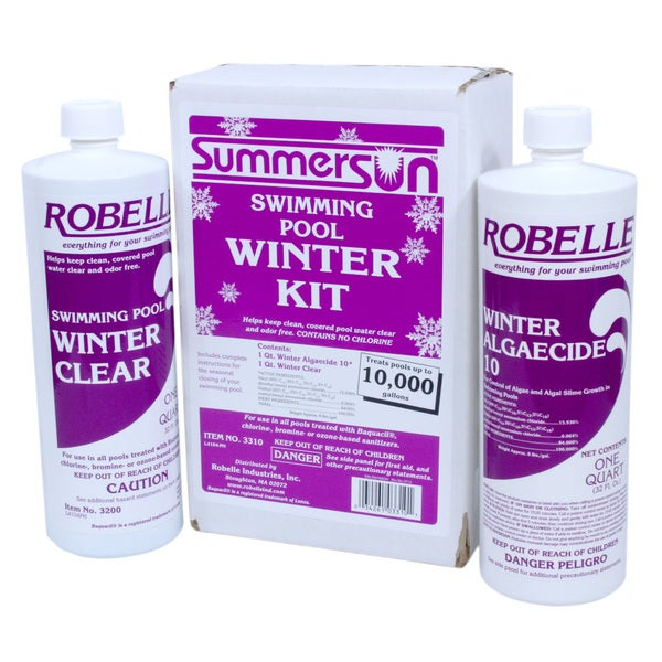 Shop summersun swimming pool winter kit free shipping on Winter chemicals for swimming pools