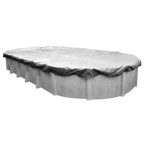Pool Mate Silverado Above Ground Winter Pool Cover for Oval Pools