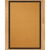 Handcrafted Carlton Sisal 8' x 10' Rug - Fudge