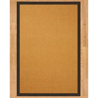 Handcrafted Carlton Sisal 9' x 12' Rug - Fudge