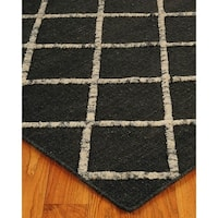 Hand Woven Centre Moroccan Wool 8' x 10' Rug