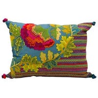 Mina Victory by Nourison Fantasia Ocean Pillow (13 in x 17 in)