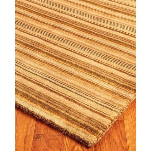 Hand Woven Tabriz Wool 4' x 6' Rug - Multi - 4' x 6'