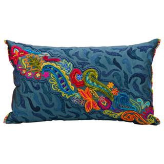"Mina Victory by Nourison Fantasia Ocean Pillow (12"" x 20"")"