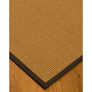 Handcrafted Portugal Sisal 5' x 8' Rug - Brown with Bonus Rug Pad