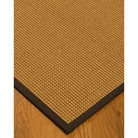 Handcrafted Portugal Sisal 6' x 9' Rug - Brown