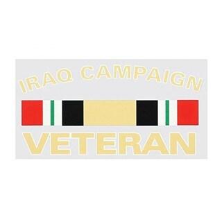 Iraq Campaign Veteran Car Decal