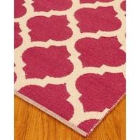 Hand Woven Winslow Dhurrie Wool 8' x 10' Rug