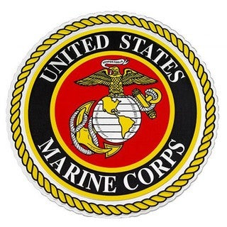 US Marine Corps Logo Car Decal