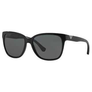 Emporio Armani Women's EA4038 Plastic Cat Eye Sunglasses