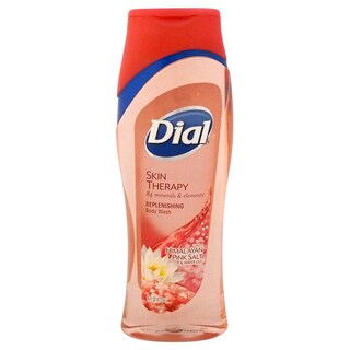 Dial Skin Therapy with Himalayan Pink Salt & Water Lily Replenishing 16-ounce Body Wash