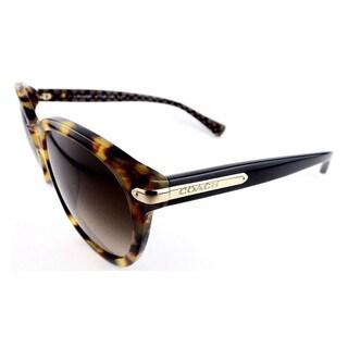 Coach Women's HC8140F L554 530913 Plastic Phantos Sunglasses