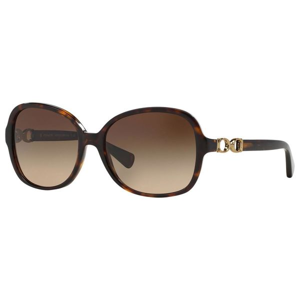 e19f5c87e182 Shop Coach Women's HC8123 L096 Cole 510513 Sunglasses - Tortoise ...
