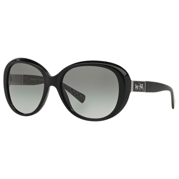 6694adba573d Shop Coach Women's HC8120 L094 Carter 526111 Sunglasses - Black ...