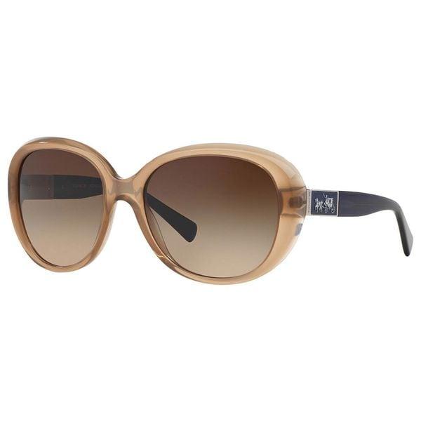 7a751ea46d Coach Women  x27 s HC8120 L094 Carter 526013 Plastic Square Sunglasses -  Brown