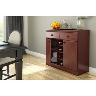 South Shore Morgan Storage Console (Option: Black)