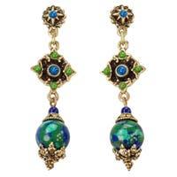 Sweet Romance Blue Green Southwest Earrings
