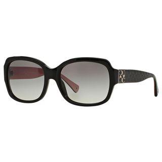 Coach Women's HC8001 L001 Emma 505311 Plastic Rectangular Sunglasses
