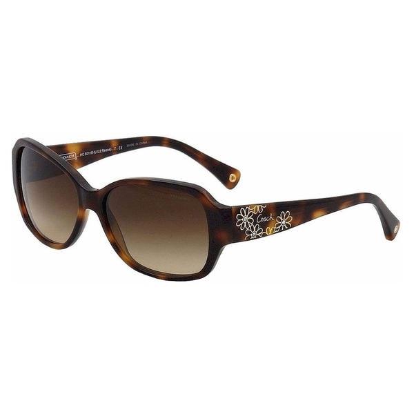 079a072877565 Coach Women  x27 s HC8011B L022 Reese 504013 Plastic Rectangle Sunglasses -  Tortoise -