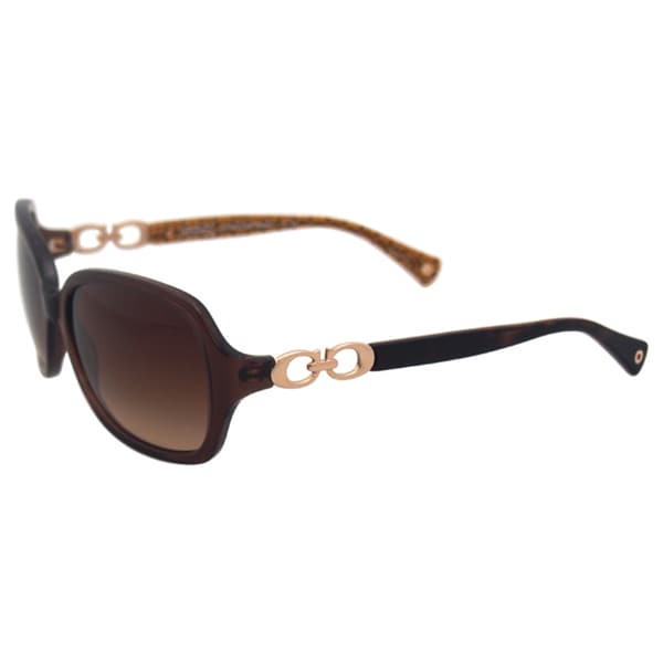 791769d243 ... new style coach womenx27s hc8019 beatrice 503513 sunglasses brown fed12  9e1ab ...