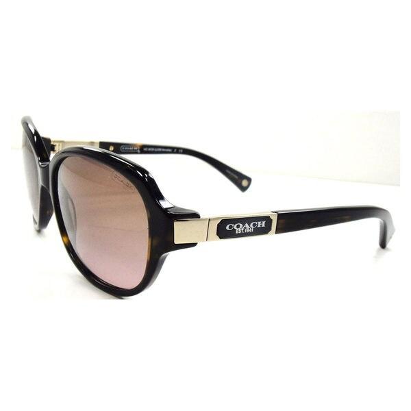 051d4c2a219 Shop Coach Women s HC8039 L039 Annette 500114 Sunglasses - Tortoise ...