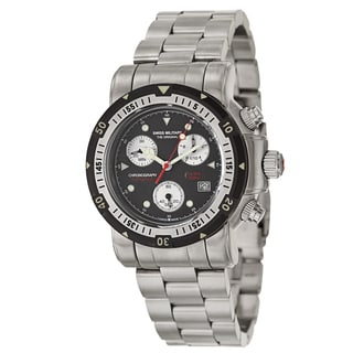 Swiss Military Men's 'seawolf I' Stainless Steel Swiss Quartz Watch