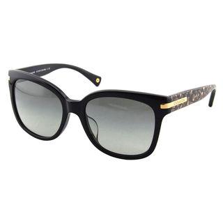Coach Women's HC8103F L544 Alfie 522611 Plastic Square Sunglasses