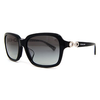 Coach Women's HC8104F L545 Ashley 521411 Plastic Square Sunglasses