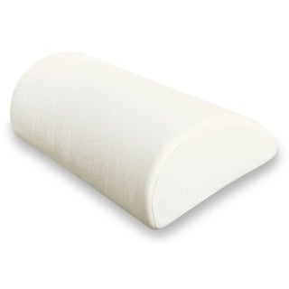 Soft Half Moon and Half Cylinder Neck Roll Pillow