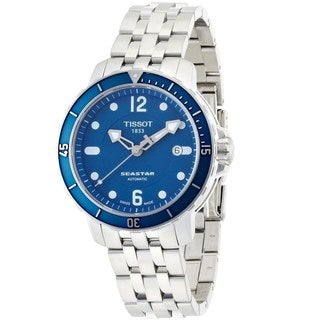 Tissot Men's T0664071104700 'Seastar' Automatic Stainless Steel Watch