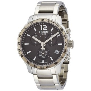 Tissot Men's T0954171106700 'Quickster' Chronograph Stainless Steel Watch