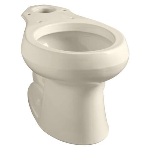Kohler Wellworth Round Front Toilet Bowl