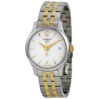 Tissot Women's T0632102203700 'T-Classic Tradition' Two-Tone Stainless Steel Watch