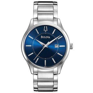 Bulova Men's 96B181 Stainless Steel Watch