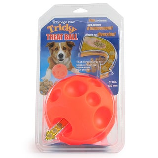 Tricky Treat Dispensing Ball - Orange